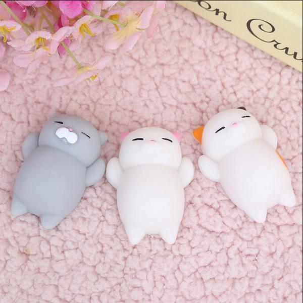 FREE: Stress Reliever Mochi Squishy Pet