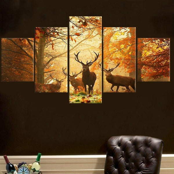 "Up to 65% OFF -  - ""Nature's Calling"" Modern Canvas Prints 