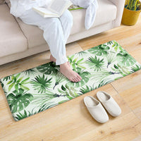 Up to 65% OFF - Mat - Tropical Plants Anti-Slip Plush Floor Mat | Wiki Wiseman