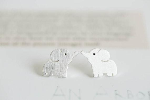 Up to 65% OFF -  - Cute Elephant Stud Earrings | Wiki Wiseman
