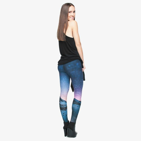 Up to 65% OFF -  - Starry Night Elastic Fitness Yoga Leggings | Wiki Wiseman