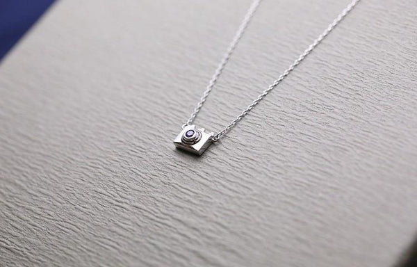 Up to 65% OFF -  - Silver Minimalist Instagram Special Camera Pendant Charm | Wiki Wiseman