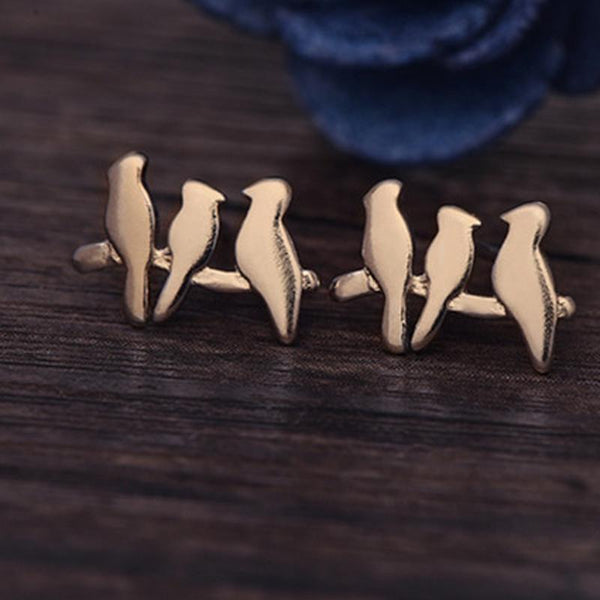 Up to 65% OFF -  - Lovely Wild Birds Stud Earrings | Wiki Wiseman