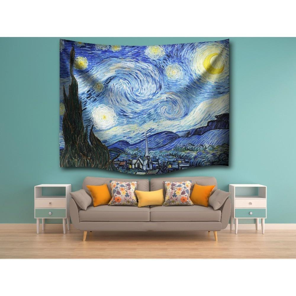 "Up to 65% OFF -  - ""The Starry Night"" Tapestry 