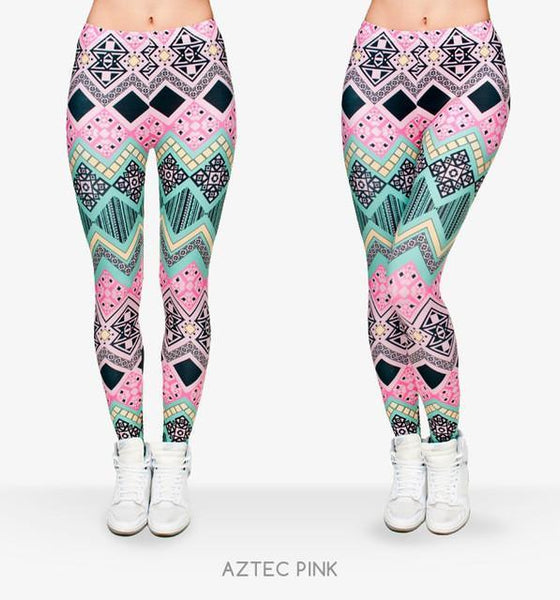 Up to 65% OFF -  - Limited Edition: Aztec Dancer Elastic Fitness Yoga Leggings | Wiki Wiseman