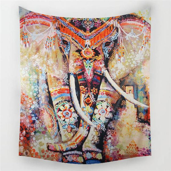 Up to 65% OFF -  - Bohemian Elephant Tapestry | Wiki Wiseman