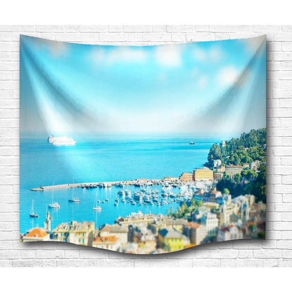 "Up to 65% OFF -  - ""Harbor of Love"" Tapestry 