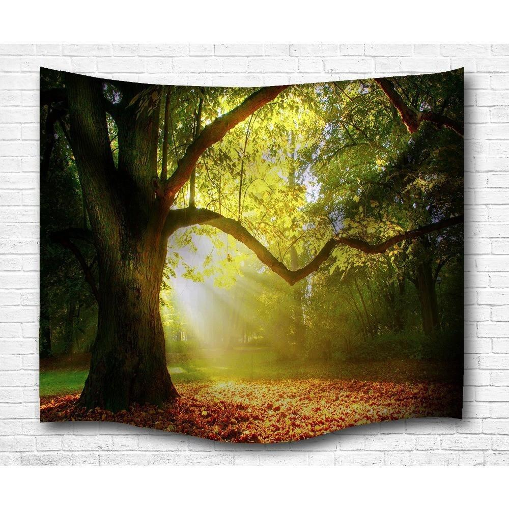 "Up to 65% OFF -  - ""Sunlit Forest"" Tapestry 