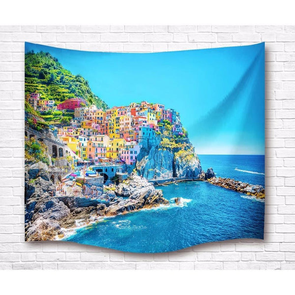"Up to 65% OFF -  - ""Romantic Colored Cliffs"" Tapestry 