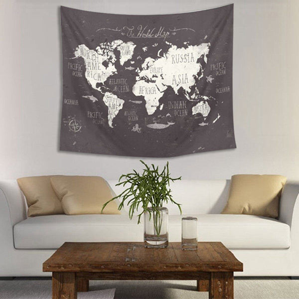 "Up to 65% OFF -  - ""World Traveler"" Tapestry 