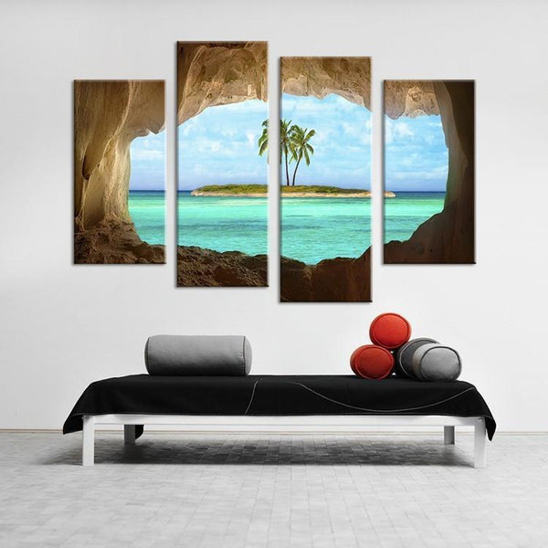 "Up to 65% OFF -  - Limited Release: ""Into the Grotto"" Modern Canvas Prints 