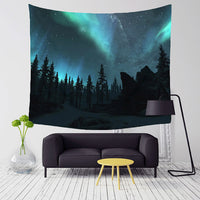 "Stargazer collection - ""Aurora Nights"" Tapestry"