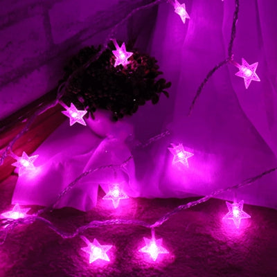 Up to 65% OFF -  - Glittering Star - 40 LED Lights | Wiki Wiseman