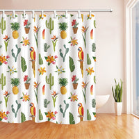 "Up to 65% OFF - Shower Curtains - ""Exotic Love"" Tropical Shower Curtain 