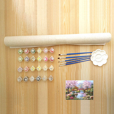 Up to 65% OFF - diy painting - Japanese Sanctuary DIY Paint-By-Number Kit | Wiki Wiseman
