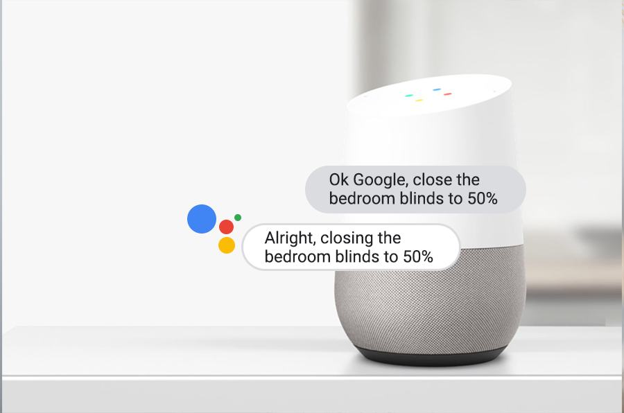 SOMA Tilt Now Works with Google Home