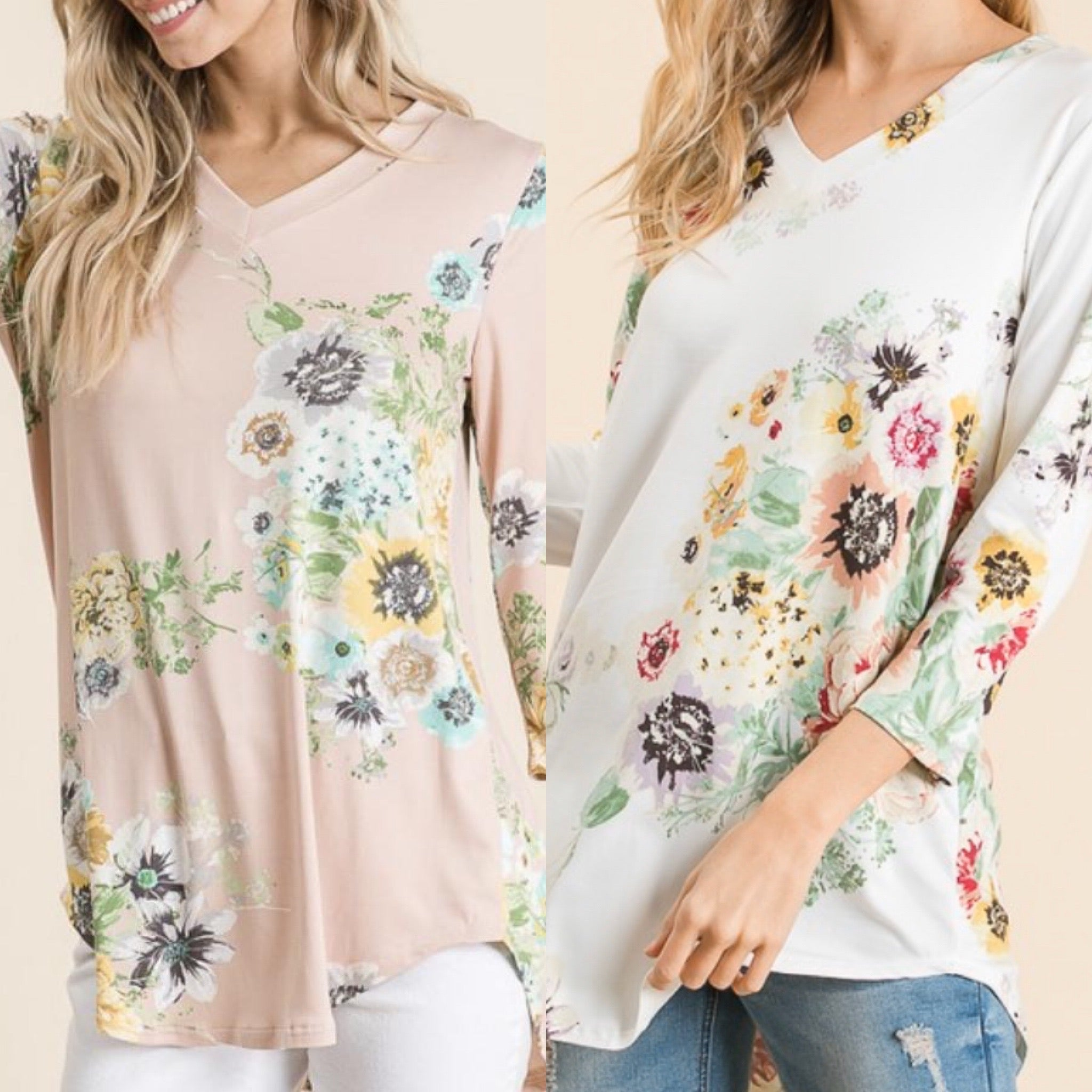 Spring Forward Top