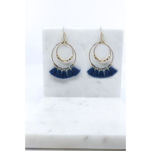 Drop Tassel Earrings