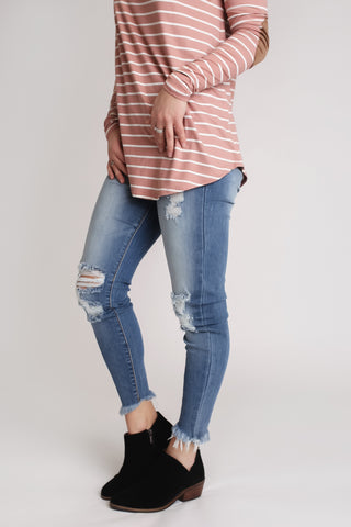 Gracelynn Dark Wash Jeans
