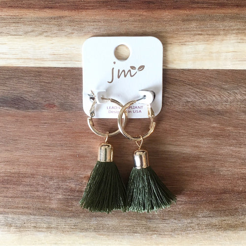 Ollie Tassel Earrings