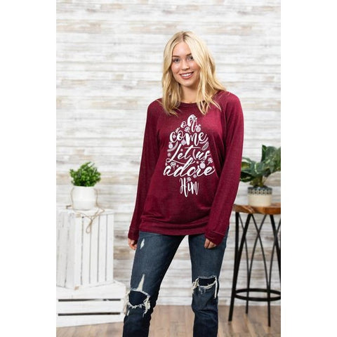 Lauren Lace-Up Sweater