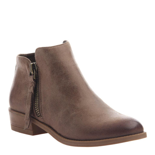 Bramble Bootie in Hickory