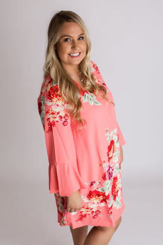 Simply Southern Criss-Cross Palm Dress