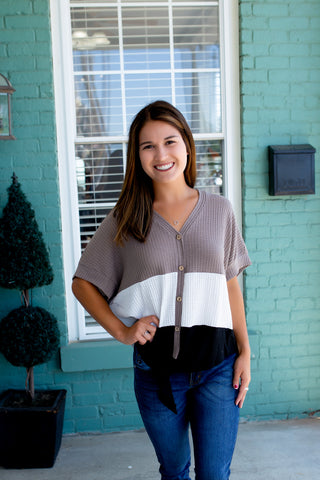 Casual Friday Striped Top