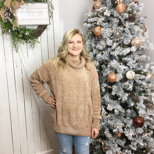 Carrie Chenille Sweater