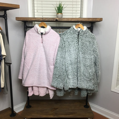 Bonfire Fleece Zip-Up Plus