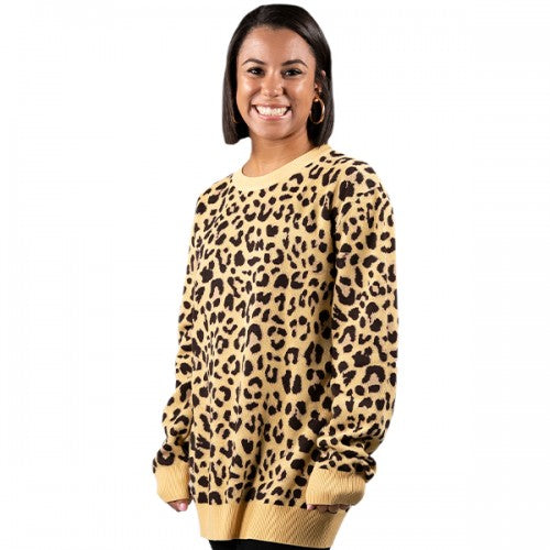 Simply Southern Leopard Sweater