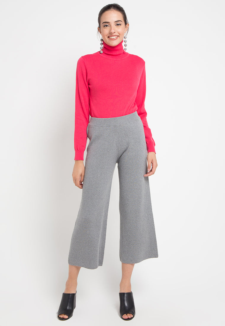 SODA ROLLNECK TEABERRY PINK