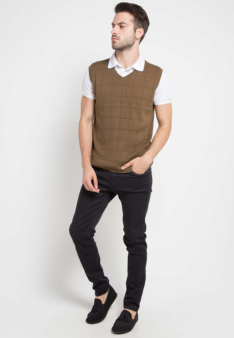 Ready vest brown