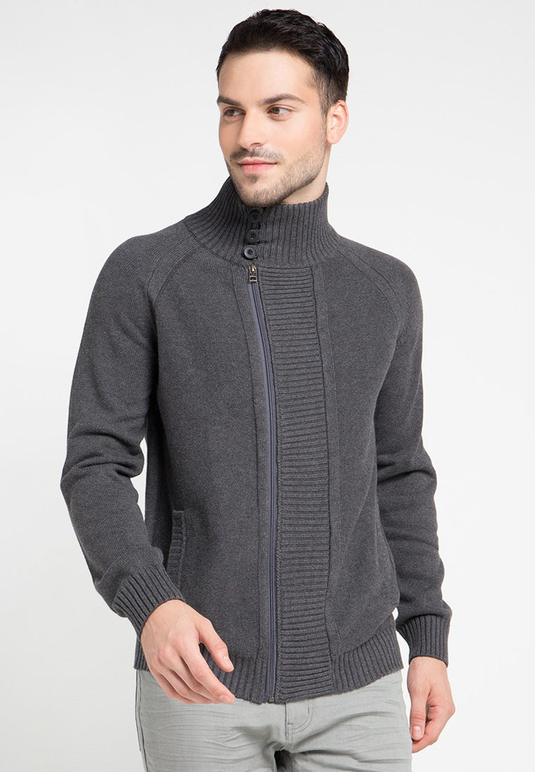 Much cardigan Dark Grey