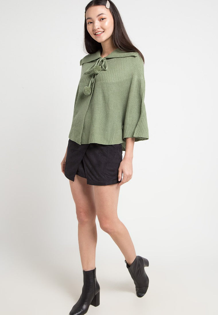 Elite Poncho Lt Green
