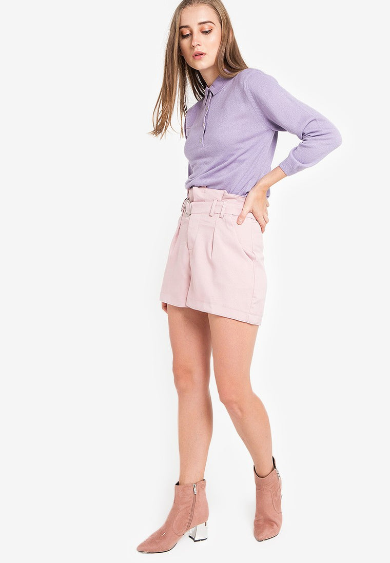 POLO KNIT - PURPLE