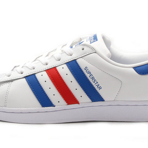 Adidas Originals Superstar M White/Red/Blue BB2246