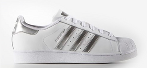 Adidas Originals Superstar W White/Silver AQ3091