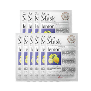 [ARIUL] 7 Days Mask_Lemon (10 Sheets)