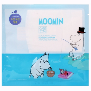 [CAREZONE] Doctor Solution Nordenau Water Ampoule Pop Mask (Moomin) 25ml