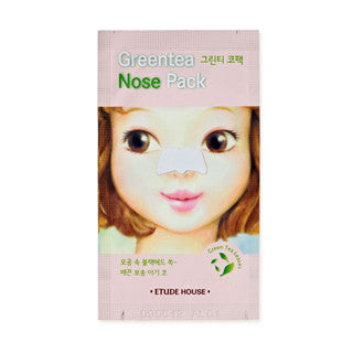 [ETUDE HOUSE] Greentea Nose Pack 1sheet