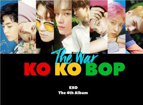 [K-POP] EXO - [The War] 4th Album Korean RANDOM Ver CD+Photobook+PhotoCard+ Store Gift