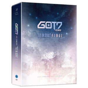 [K-POP] GOT7 1ST CONCERT [FLY IN SEOUL FINAL] 3 DISC+PhotoBook+PhotoCard+BookMark
