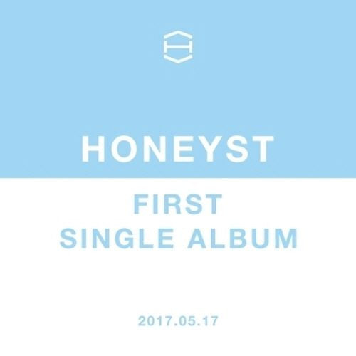 [K-POP] HONEYST - FIRST SINGLE ALBUM CD+Sleeve+Jewel Case+Booklet K-POP Band Sealed FNC