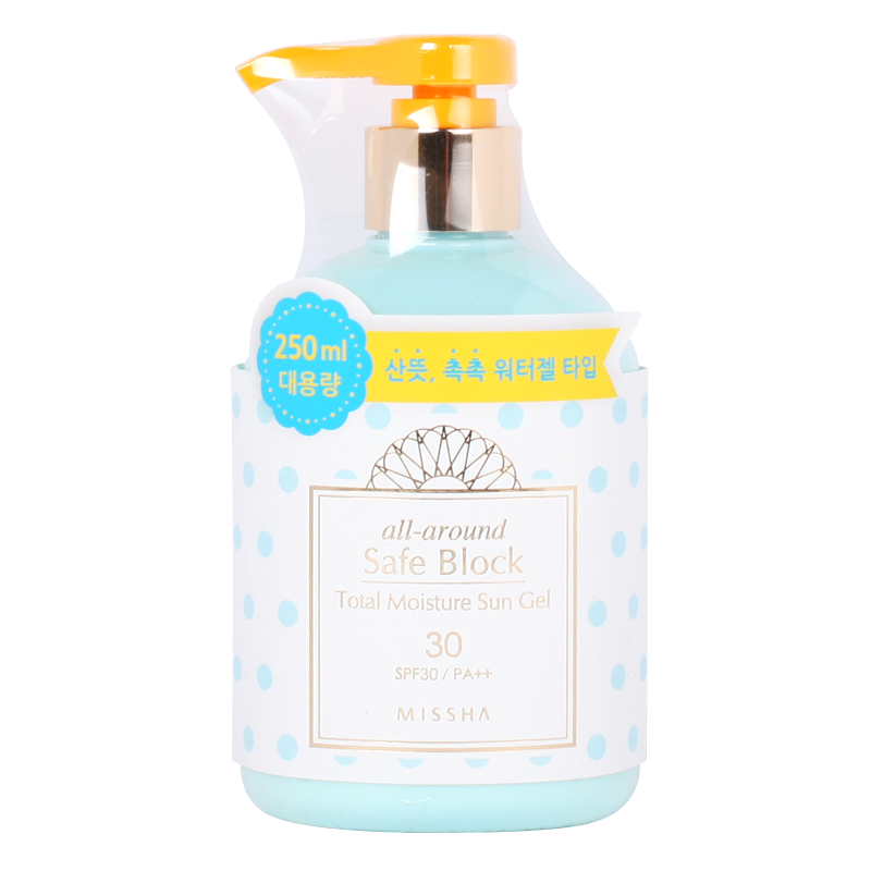 [MISSHA] All Around Safe Block Total Moisture Sun Gel SPF30/PA++ 250ml