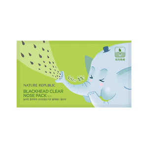 [Nature Republic] Blackhead Clear 3-Step Nose Pack 7 Sheets