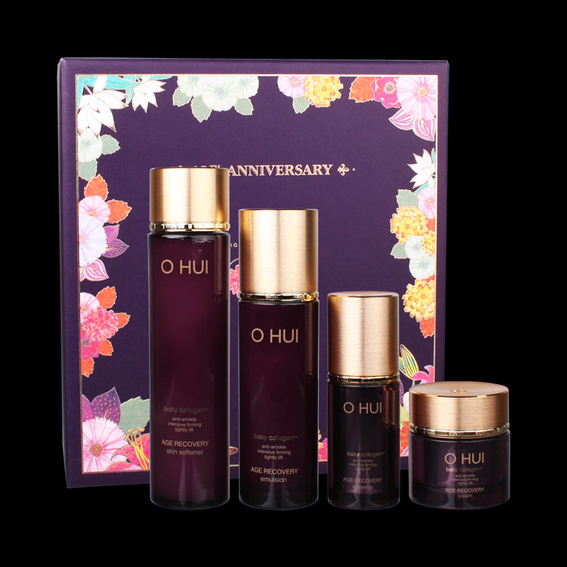 [OHUI] Age Recovery Beautiful Face Campaign Special Gift Set 4 Items