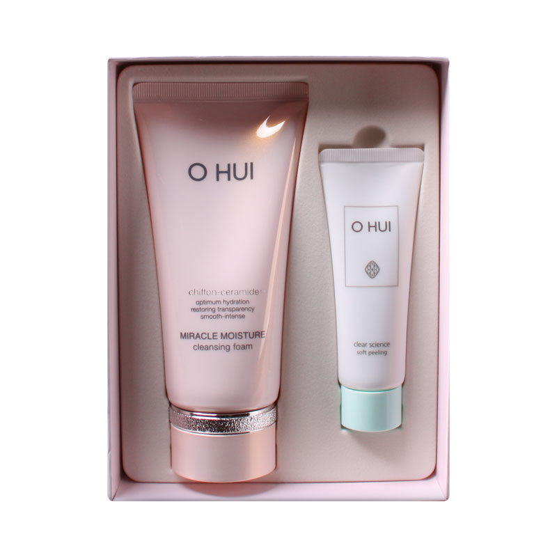 [OHUI] Miracle Moisture Cleansing Foam Special Set