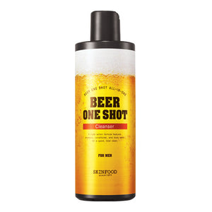 [SKINFOOD] Beer One Shot Cleanser for Men 400ml