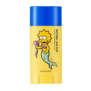 [THE FACE SHOP] [The Simpson] Natural Sun Eco Clear Sunscreen Stick SPF50 PA+++